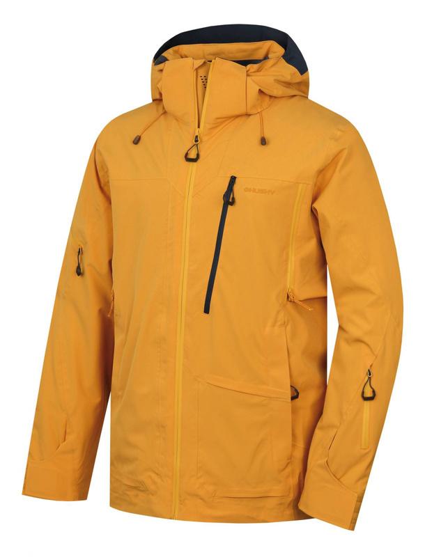 Pánska lyžiarska bunda Husky MONTRE M krémovo žltá L