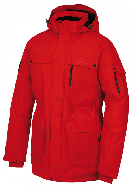 Pánska páperová bunda Husky Dantex M červená XXL