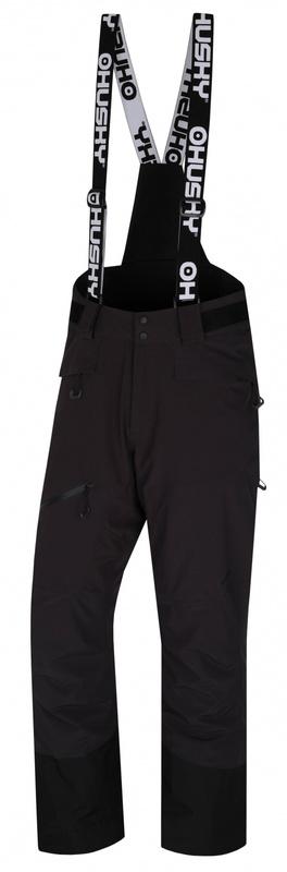 Pánske lyžiarske nohavice Husky Gilep M čierna