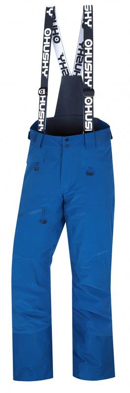 Pánske lyžiarske nohavice Husky Gilep M tm. modrá M