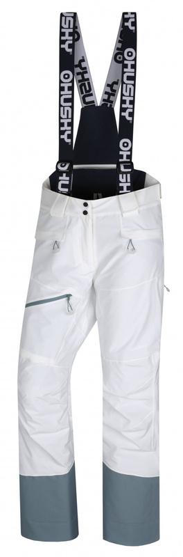 Dámske lyžiarske nohavice Husky Gilep L biela