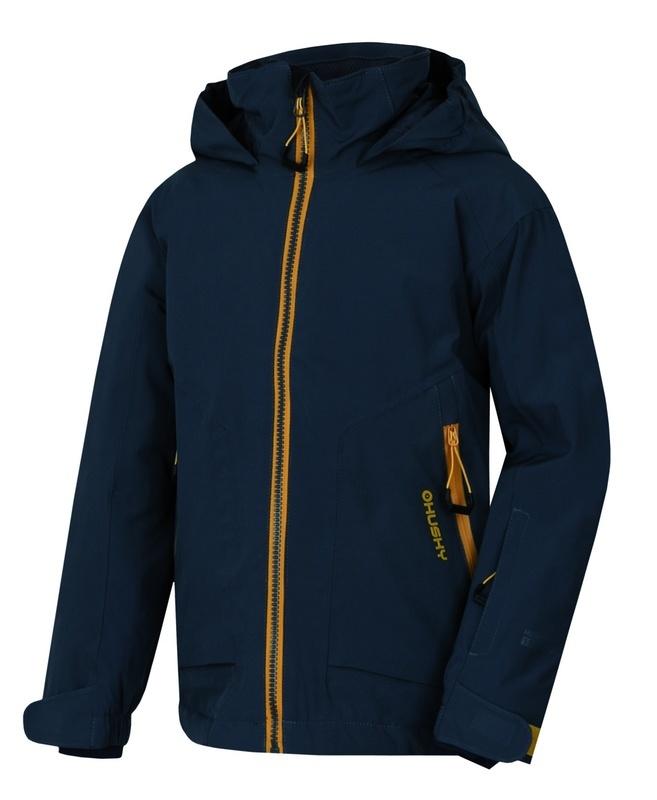 Detská ski bunda Husky Zengl Kids antracit 152-158
