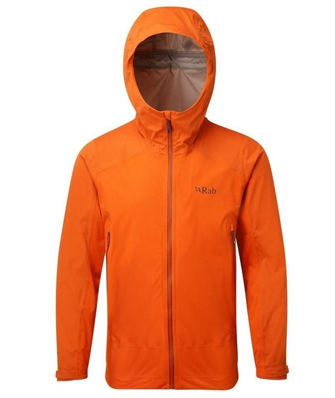 Pánska bunda Rab Alpine jacket firecracker M