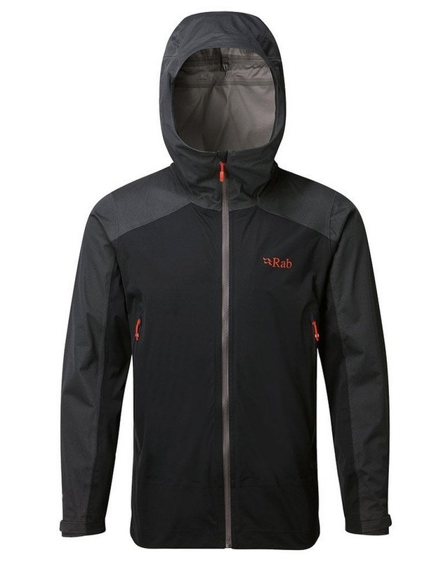 Pánska bunda Rab Kinetic Alpine Jacket beluga L