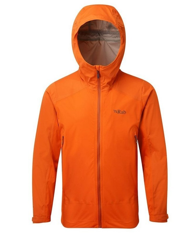 Pánska bunda Rab Kinetic Alpine Jacket firecracker M