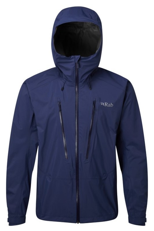 Pánska bunda Rab Downpour Alpine Jacket blueprint S