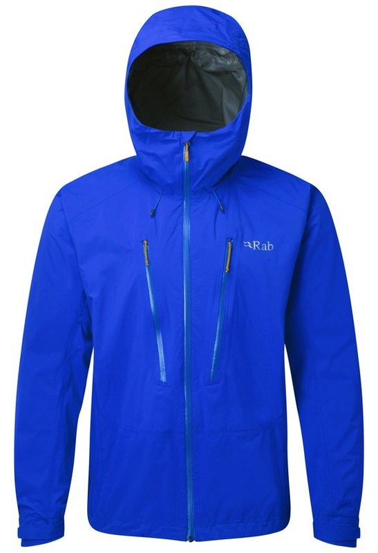 Pánska bunda Rab Downpour Alpine Jacket maya XL