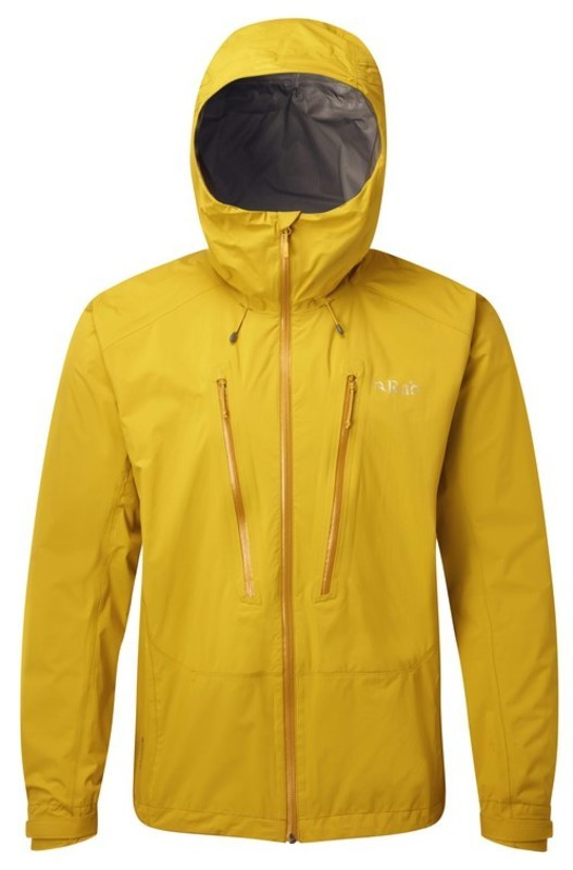 Pánska bunda Rab Downpour Alpine Jacket sulphur XL