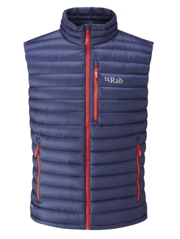 Perová vesta Rab Microlight Vest twilight XL