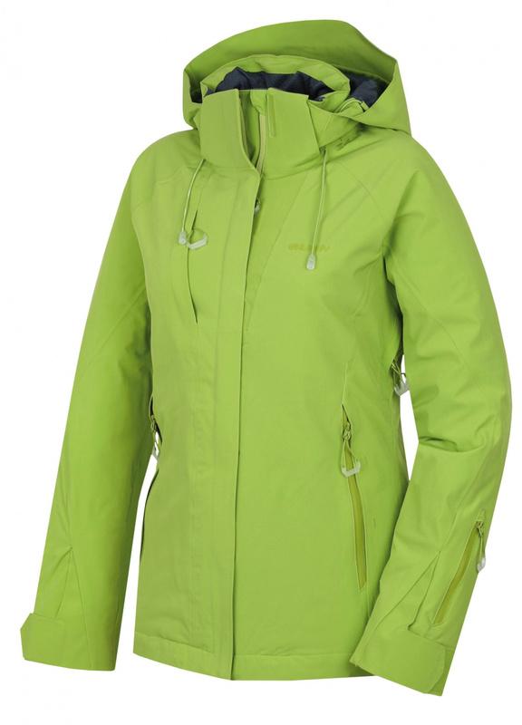 Dámska lyžiarska bunda Husky Nopi L zelená M