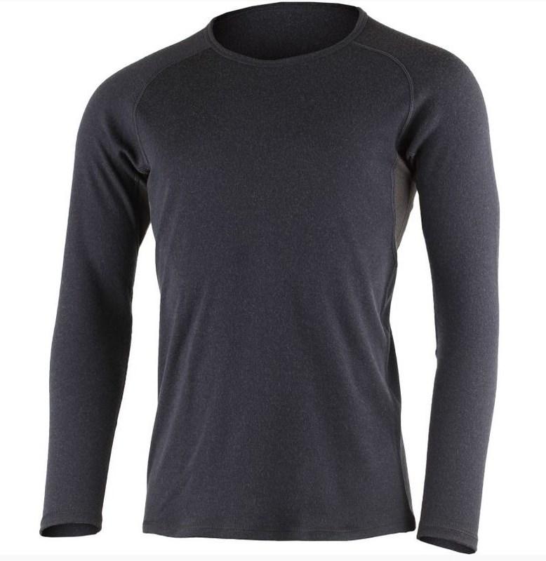 Pánske vlnené triko Lasting BERT modré S