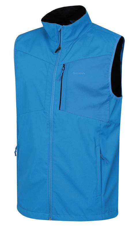 Pánska softshellová vesta Husky Saliente M modrá M