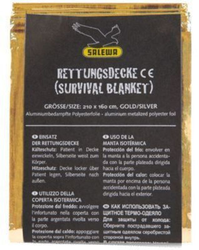 Ochranná fólia Salewa Survival Blanket 1891-0999