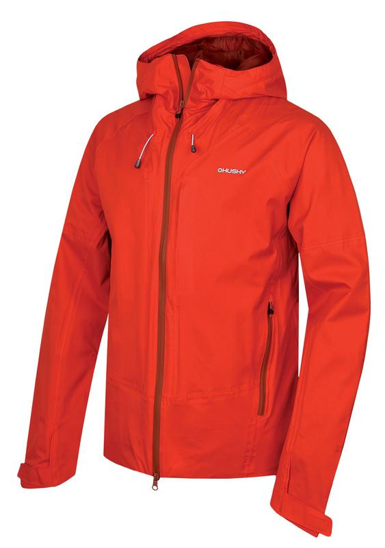 Pánska hardshellovej bunda Husky Nicker M červená XL