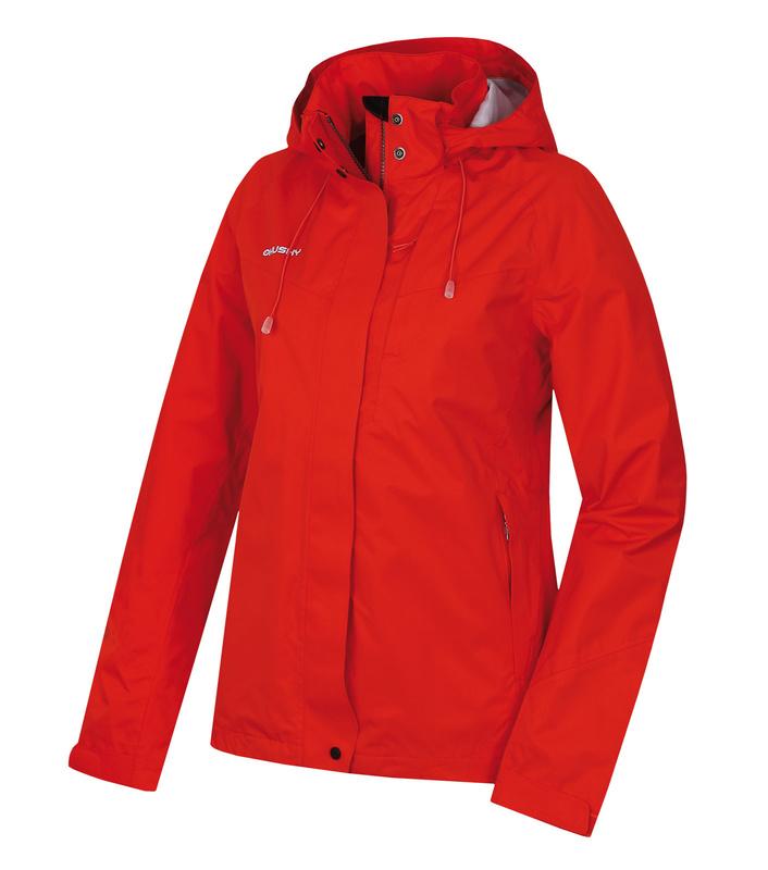 Dámska hardshellovej bunda Husky Nutty L červená XL