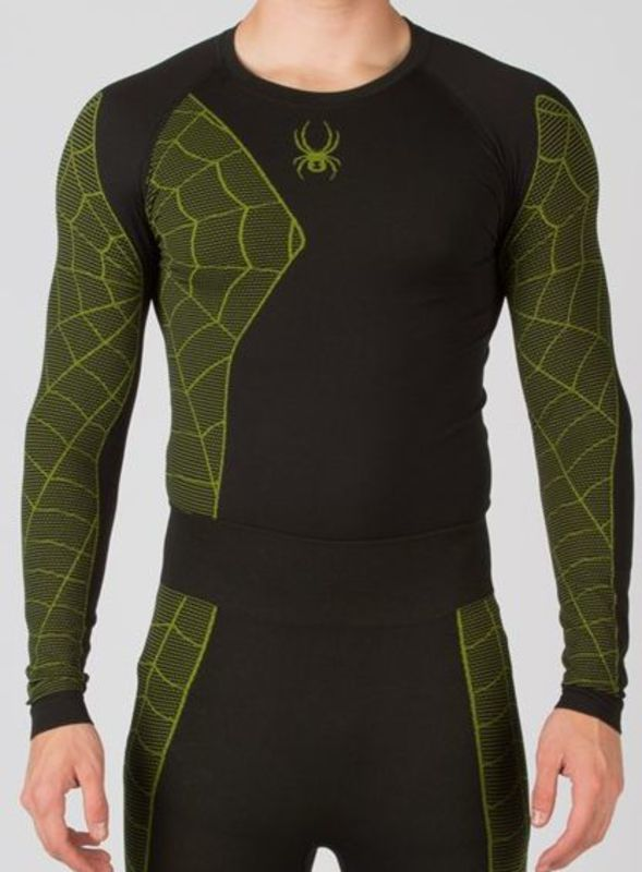 Nátelník Spyder Men `s Skeleton X-Static ® L/S 156500-019