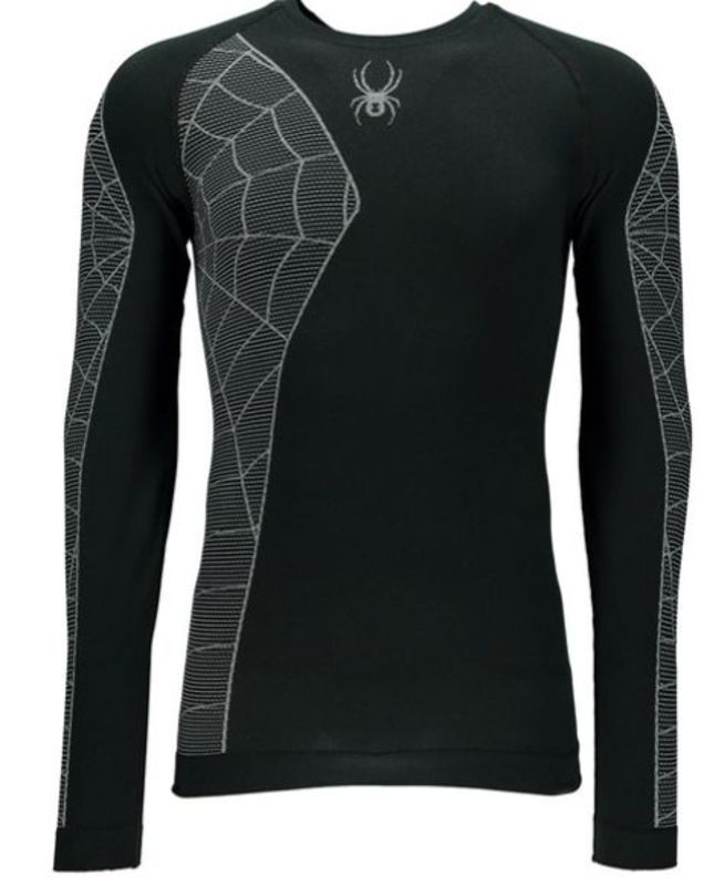 Nátelník Spyder Men `s Skeleton (Boxed) X-Static ® L/S 156501-001