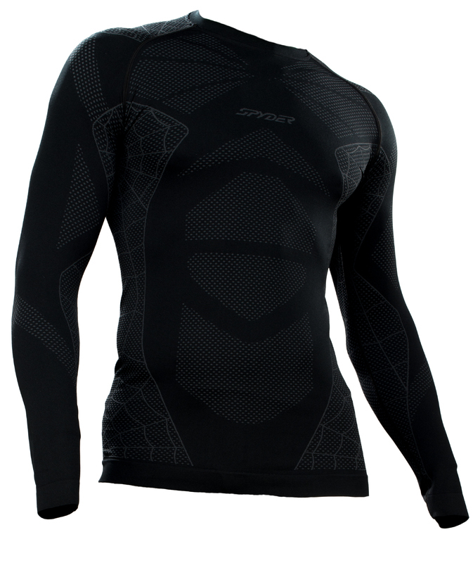 Nátelník Spyder Men `s Captain (Boxed) Seamless L/S 156507-001