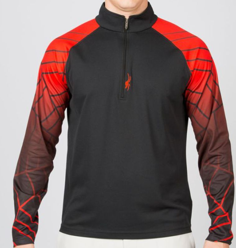 Rolák Spyder Linear Web Dry W.E.B. ™ T-Neck 157410-019
