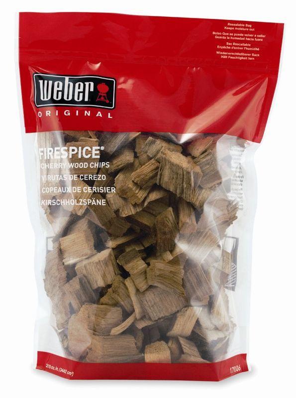 Drevené lupienky Weber z pekanového orecha 17002