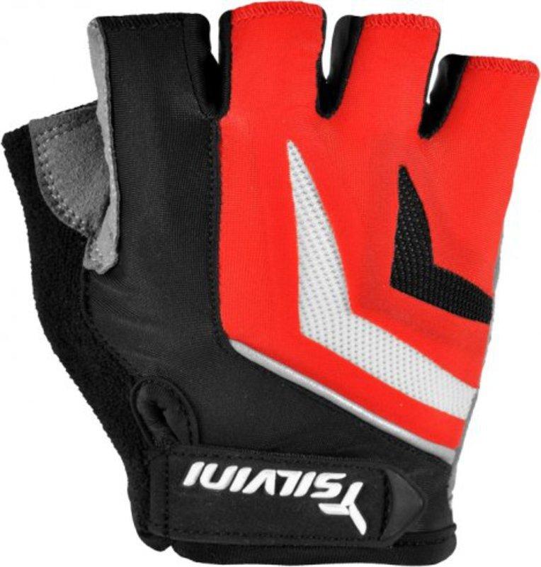 Pánske cyklistické rukavice Silvini Nero UA467M red