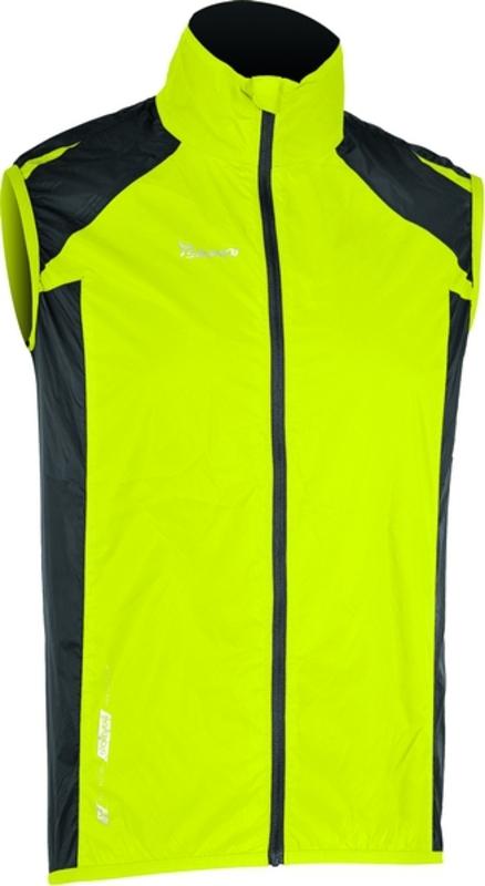Pánska cyklistická vesta Silvini Sinello MJ368 neon