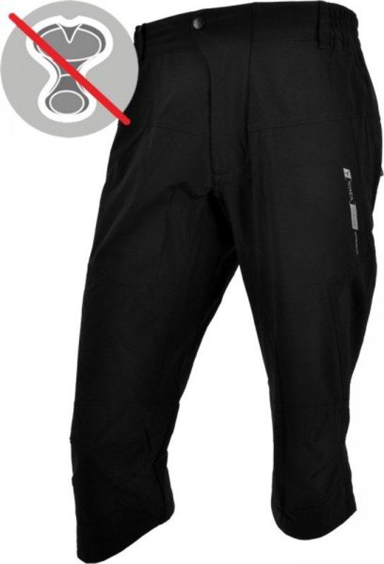 Pánske 3/4 športové nohavice Silvini Tesino MP630 black