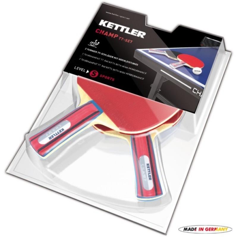 Set pálok na stolný tenis Kettler CHAMP 7090-700