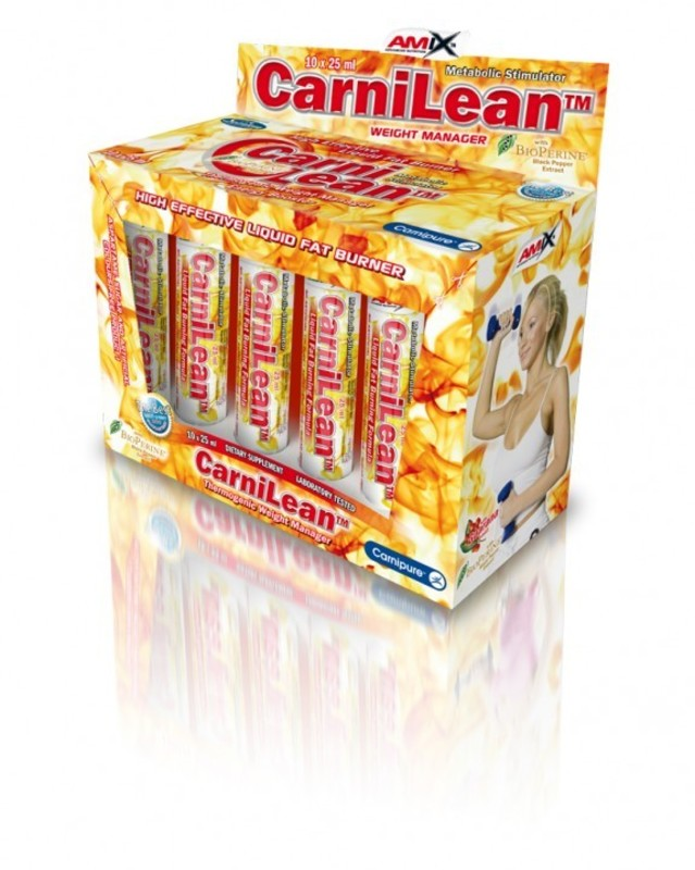 Redukcia hmotnosti Amix CarniLean™ 10 x 25 ml amp. - Pomaranč