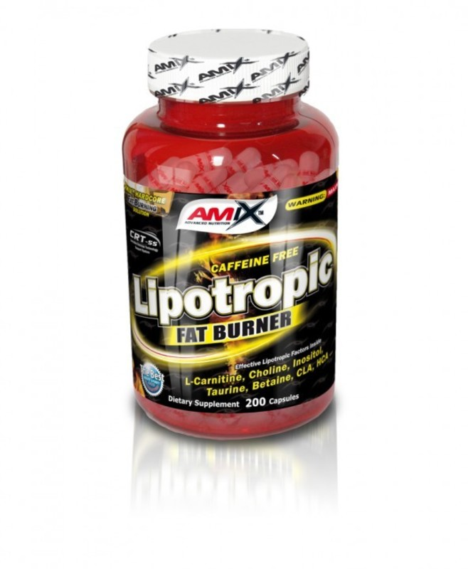 Redukcia hmotnosti Amix Lipotropic Fat Burner 200cps