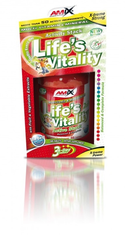 Amix Life s Vitality Active Stack 60 tablet BOX