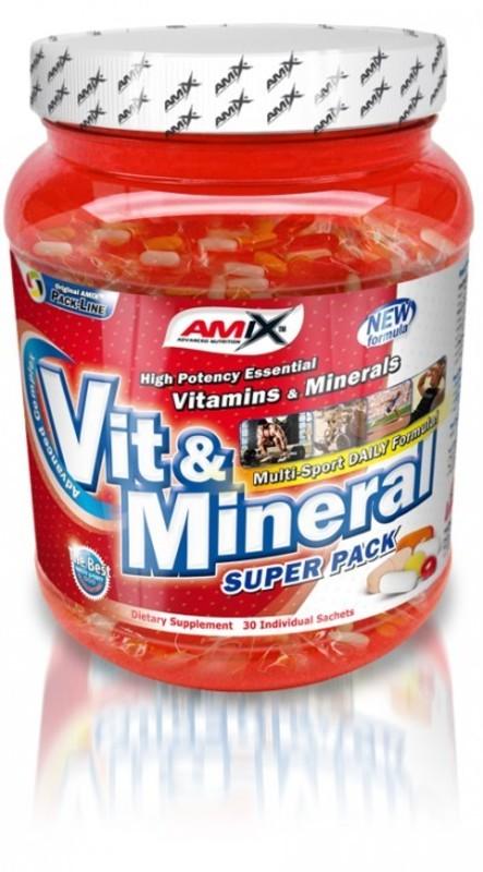 Amix Super Vit & Mineral Pack 30 sáčkov
