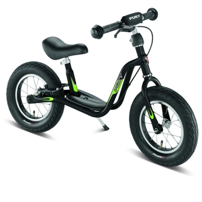 Odrážadlo s brzdou PUKY Learner Bike LR L čierna / kiwi 4050