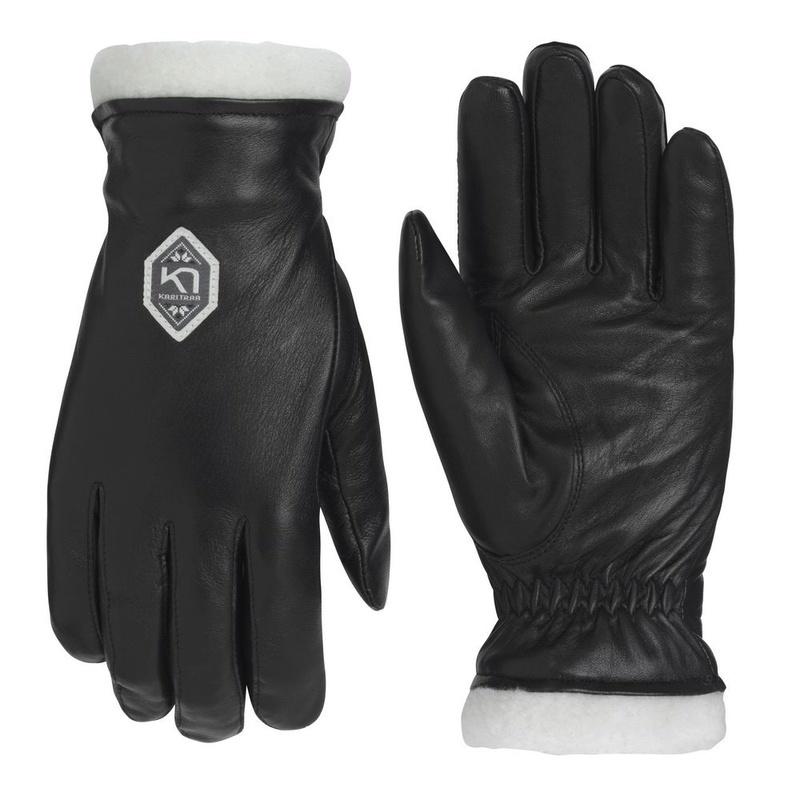 Dámske kožené rukavice Kari Traa Himl Black 6