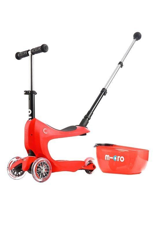 Kolobežka Micro Mini2go Deluxe Plus Red