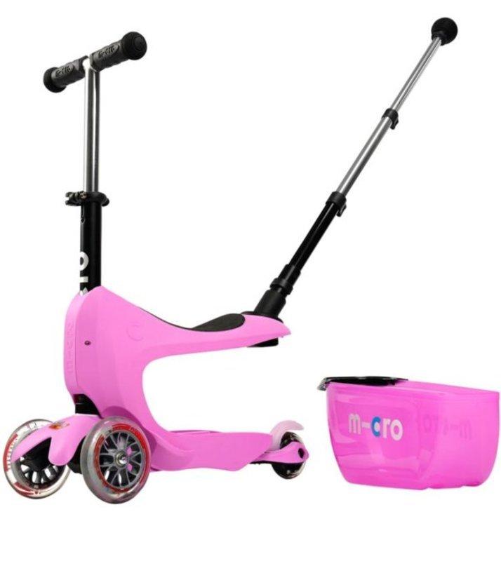 Kolobežka Micro Mini2go Deluxe Plus Pink