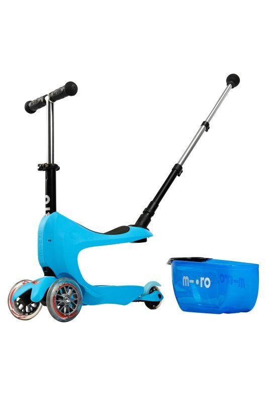 Kolobežka Micro Mini2go Deluxe Plus Blue