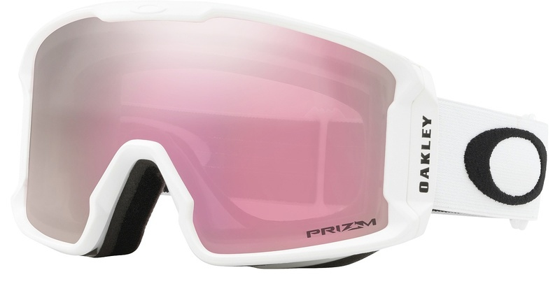 d9c5ca363 Lyžiarske okuliare Oakley LM XM Matte White w / prizm HI Pink OO7093-11 ·  lyžovanie