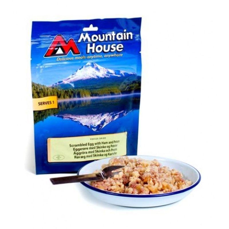 Mountain House miešaná vajcia