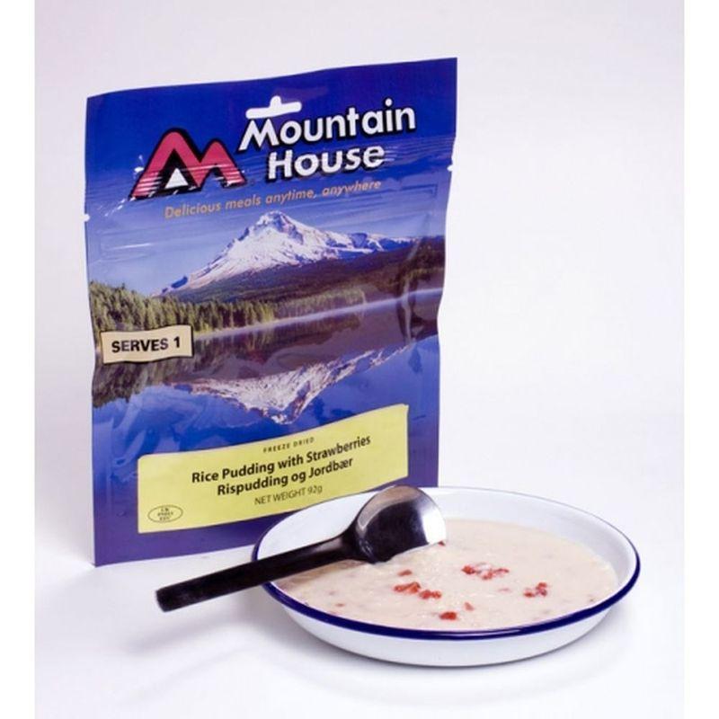Mountain House ryžový puding