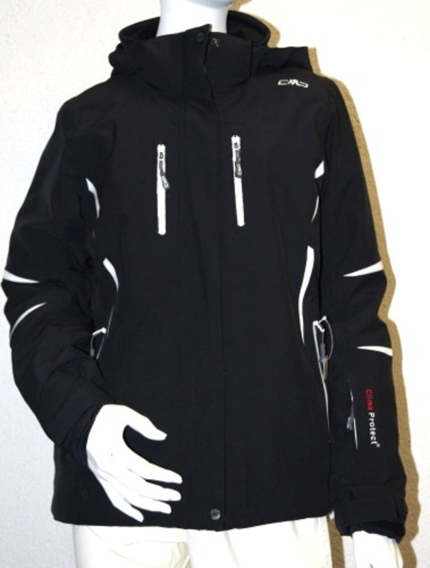 Bunda Campagnolo Woman Ski Jacket Stretch Zips Hood 3W19336-U901