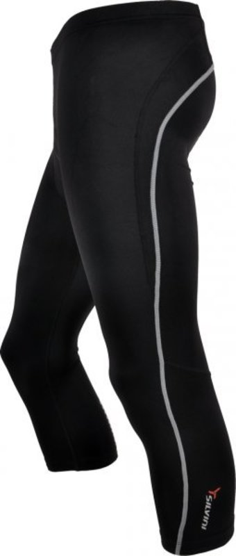 Pánske 3/4 cyklistické nohavice Silvini Tiera MP358 black