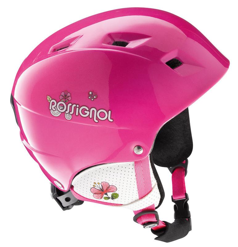 Lyžiarska helma Rossignol Comp J Diva Pink RK2H500