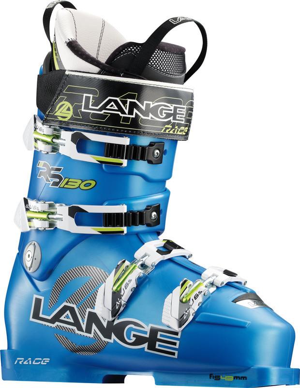 Lyžiarske topánky Lange RS 130 WIDE SPEED BLUE LB21050