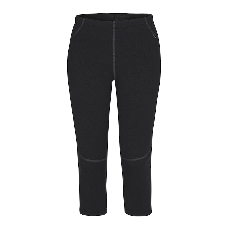 3/4 Spodky Zajo Artica Boot Cut Lady Pants black