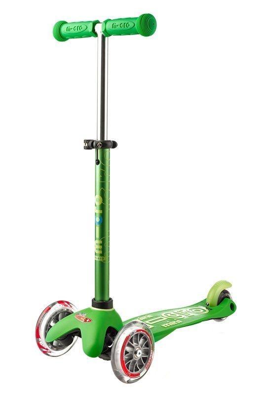 Kolobežka Mini Micro Deluxe Green
