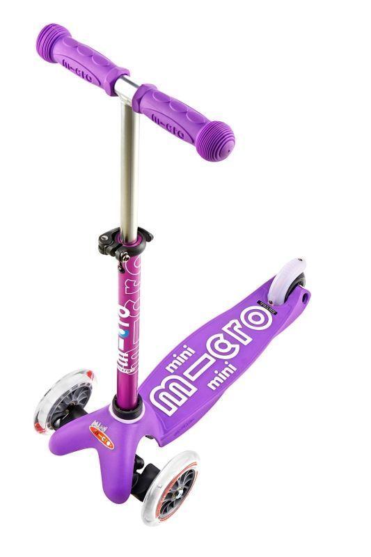 Kolobežka Mini Micro Deluxe Purple