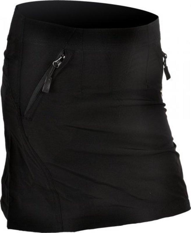 Dámska cyklistická sukňa Silvini Invia WS378 black