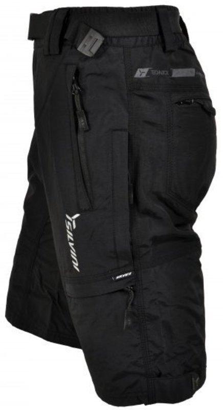 Pánske mtb cyklistické nohavice silvini rango mp373 black