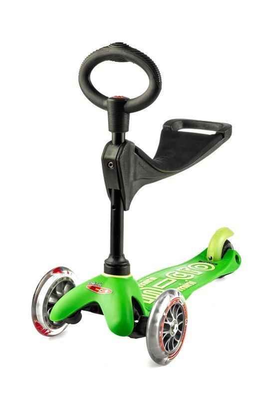 Kolobežka Mini Micro Deluxe 3v1 Green